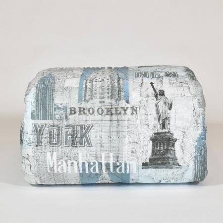 NEW YORK trapunta singola...