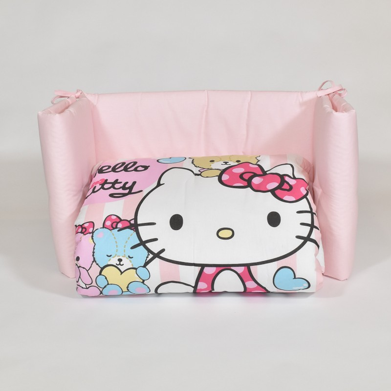 Trapunta Hello Kitty Gabel.Little Friends Trapunta E Paracolpi Lettino Hello Kitty By Gabel