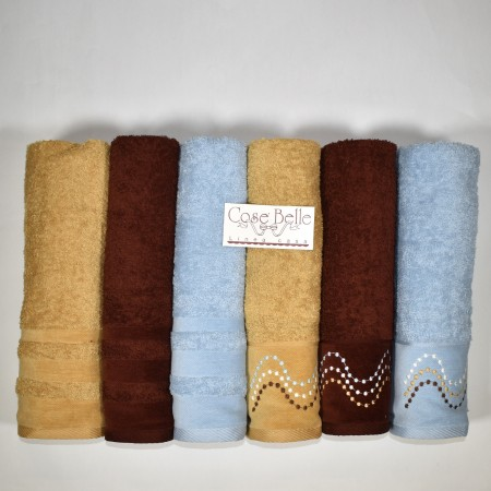 SUMATRA set asciugamani 6+6...