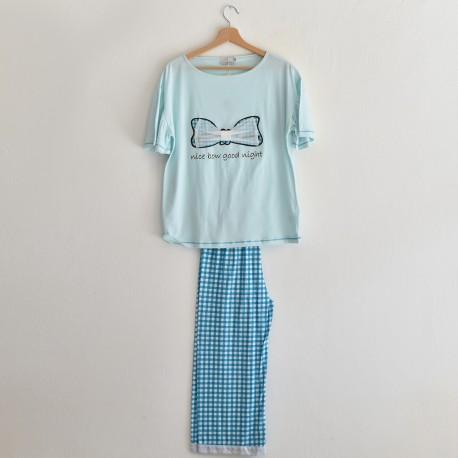 DELICIA pigiama donna mezza manica e pinocchietto MISS LINGERIE