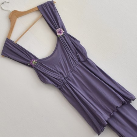 FRILLY pigiama donna spalla...