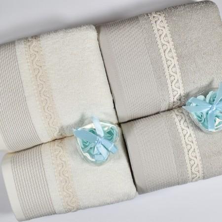 PERUGIA Set 1 asciugamano e...