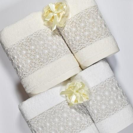 DEREN Set 1 asciugamano e 1...
