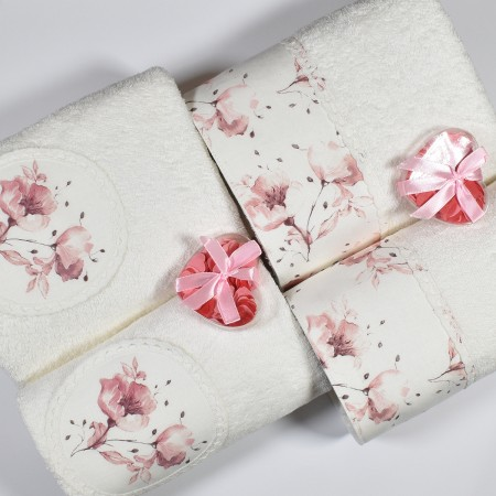GARDENIA Set 1 asciugamano...