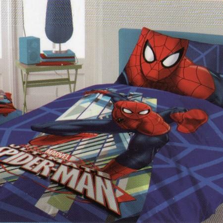 SPIDERMAN completo lenzuola...