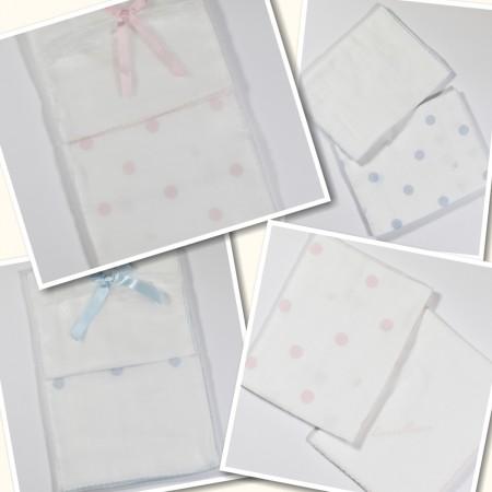 Quadrati in garza neonati...