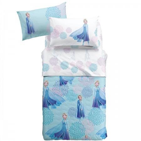 Elsa Blu copriletto singolo...