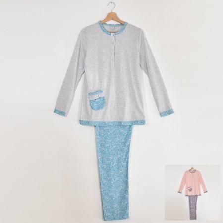 ELIANA pigiama donna manica...