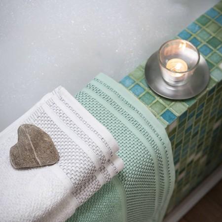 Set asciugamani e ospite...