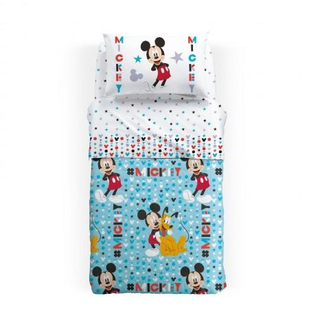 Trapuntino singolo Mickey...