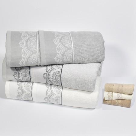 Set asciugamani 3 viso 3...