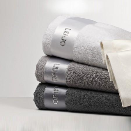 SALE NERO set asciugamani...